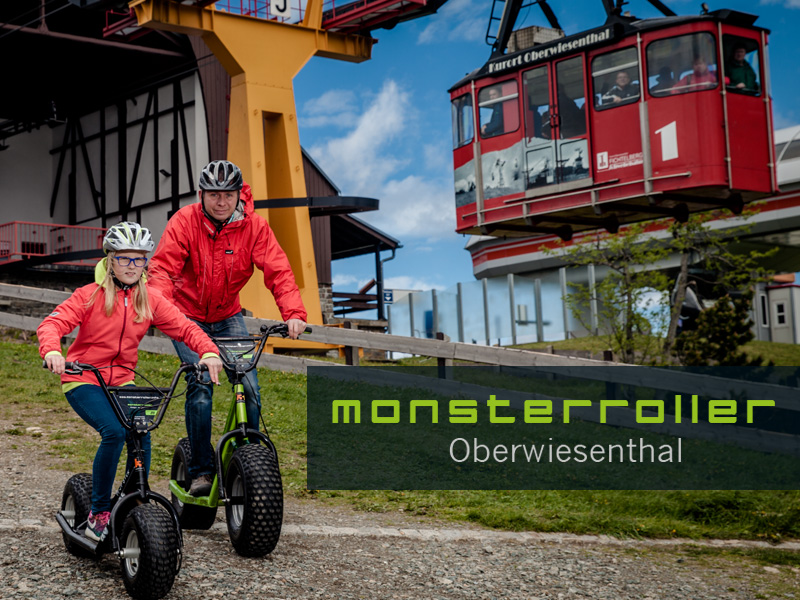 Monsterroller in Oberwiesenthal/Erzgirge